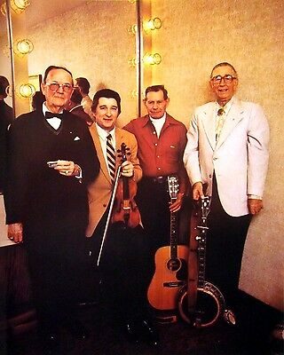 CROOK BROTHERS Herman & Matthew country clipping 1980s bluegrass color photo