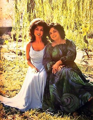 WILMA LEE COOPER country clipping 1980s color photo Grand Ole Opry w/ Carrol Lee