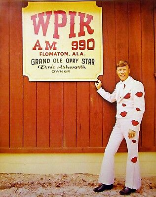 ERNIE ASHWORTH Flomaton WPIK country clipping 1980s color photo Grand Ole Opry