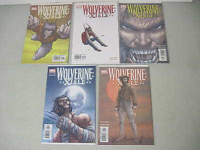 Complete Set Of Wolverine: Xisle #1-5 Marvel Limited Series Jones Lucas