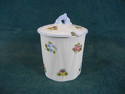 Shelley Rose, Pansy, Forget Me Not Pattern 13424 Jam / Jelly Jar with Lid
