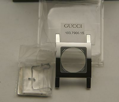 NIB Gucci Replacement Case Set - 7900 M - Stainless Steel