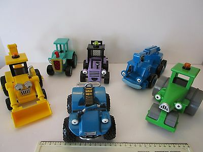 6 Bob the Builder None Friction Powered Vehicles