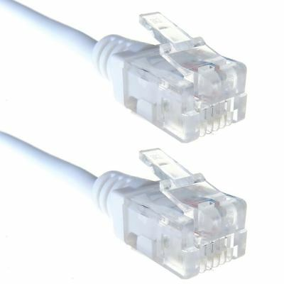 Computer Gear 30-0008 - 5M High Speed ADSL RJ11 to RJ11 Cable White