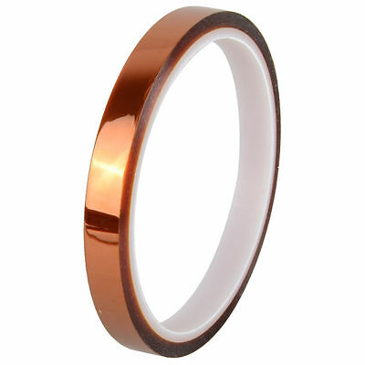 6mm X 33m 100ft Kapton Tape BGA High Temperature Heat Resistant Polyimide CA
