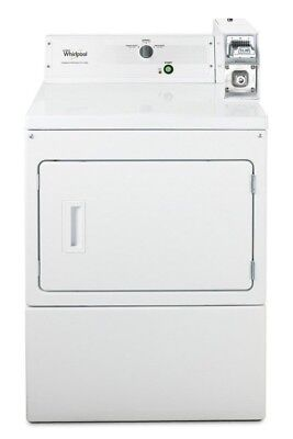 Whirlpool Coin-Op 27 Inch Commercial Single Electric Dryer CEM2763BQ