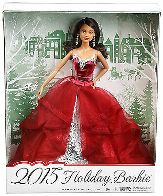 ToKaLand Barbie Collector 2015 Holiday African-American Doll