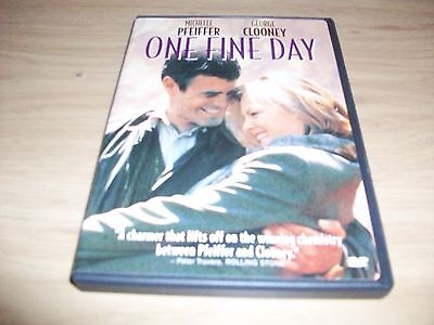 Romantic Comedy Movie: One Fine Day!! Used & In Excellent Condition!!