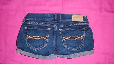 Girls Size 14 Abercrombie Kids Jean Shorts Very Short VGUC
