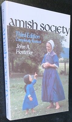 TWO Amish Society,History,Culture,Religion,Farm,Family,Community,Rituals,Books