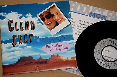 """7"""" Glenn Frey - Part Of Me, Part Of You + Product Facts!!"""