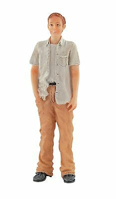 1/12Th Scale Dolls House Modern Man Standing Resin Figure