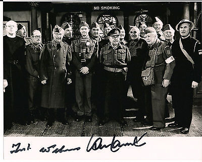 IAN LAVENDER & FRANK WILLIAMS Dad's Army Original Signed Autograph 8x10 Photo 6