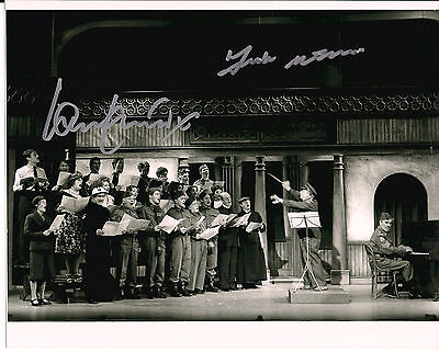 IAN LAVENDER & FRANK WILLIAMS Dad's Army Original Signed Autograph 8x10 Photo 7