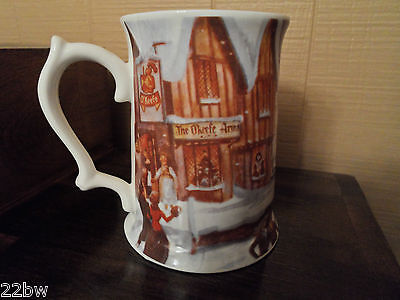 O'Keefe Winter Scene Tankard - Limited Edition - Fine Bone China - Take A Look!