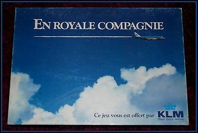 EN ROYALE COMPAGNIE - le jeu d'aviation KLM