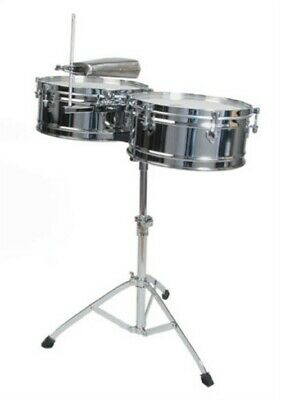 Toca Pro Elite Series Timbales Drums Set Percussion