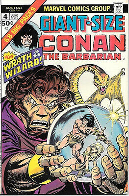 Giant-Size Conan The Barbarian Comic Book #4 Marvel 1975 VERY FINE