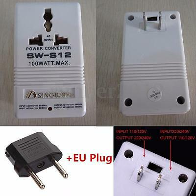 Xingwei AC 110V to 220V 100W Transformer Step Up&Down Dual Voltage Converter