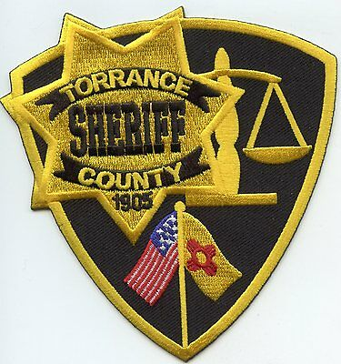 Torrance County New Mexico Nm Sheriff Police Patch