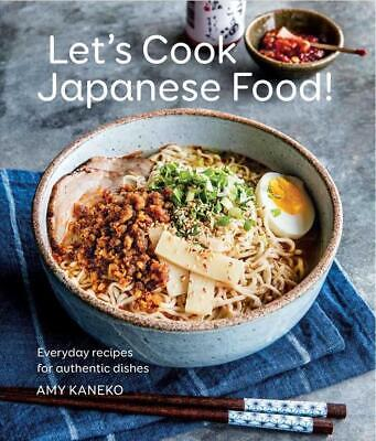 Let's Cook Japanese Food! by Amy Kaneko Hardcover Book