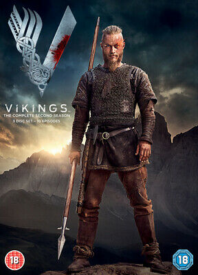 Vikings: The Complete Second Season DVD (2014) Travis Fimmel cert 18 Great Value
