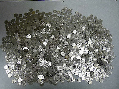 5 LBs Canadian Nickels---5 Pounds Of .999 Nickel Bullion
