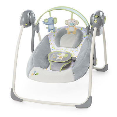 New Ingenuity Soothe 'n Delight Portable Swing - Buzzy Bloom Model:21100392