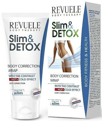 Revuele Slim & Detox Correcting Body Wrap 200ml Contrast Hot & Cold Effect