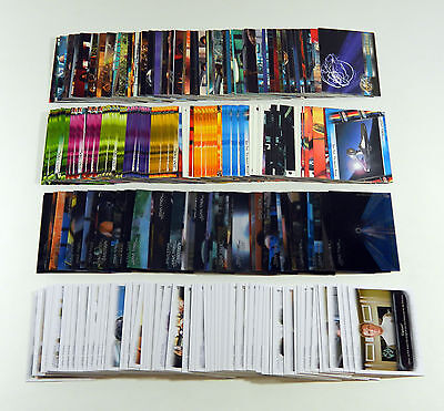 4 Different Star Trek Movies Base Sets * Quotable In Motion Complete Movies ++