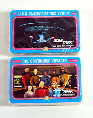 Star Trek The Next Generation TNG Playing Card Set Sealed Enterprise 1701-D