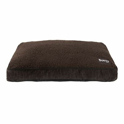 Bunty Snooze Soft Fur Fleece Dog Bed Pet Basket Mat Cushion Pillow Mattress