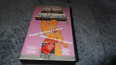 He-Man Masters of the Universe VHS Pal Video From 1984