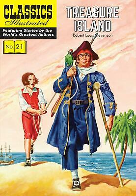 Treasure Island by Robert Louis Stevenson (English) Paperback Book Free Shipping