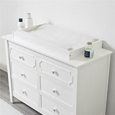 Baby Relax DA76048-2 Changing Topper For Nursery Room, In White Finish New