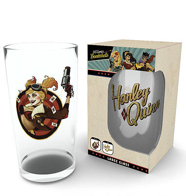 DC Comics Harley Quinn Bombshell 500ml Large Glass