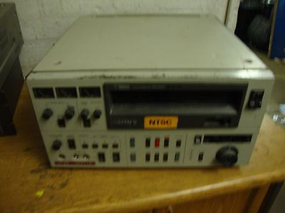 Sony VO-5850P U-matic Video Cassette Recorder (Spares and Repairs) AJ018