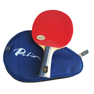 Palio Legend 2 Table Tennis Bat & Case - Ping Pong Set for Power & Spin Players