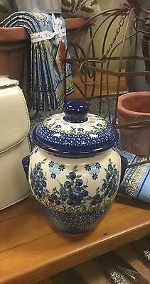 1 L Polish Pottery Container