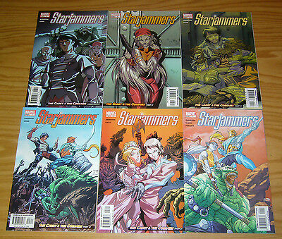 Starjammers vol. 2 #1-6 VF/NM complete series - x-men spinoff set 3 4 5 garza