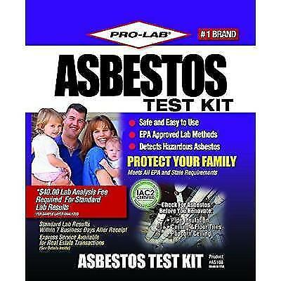 PRO-LAB Asbestos Do It Yourself Test Kit AS108 New