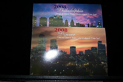 2008 United States Mint Uncirculated Coin Set