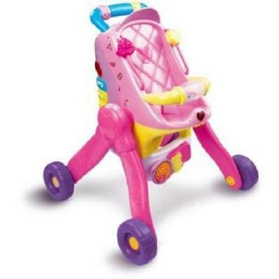 Vtech Little Love 3 in 1 Interactive Pushchair NEW