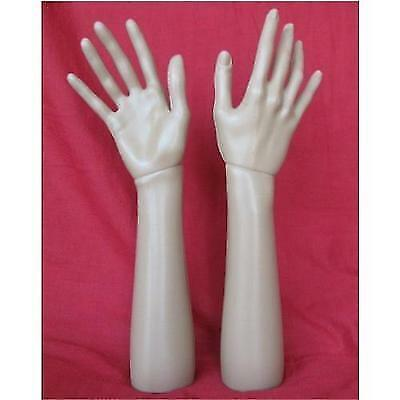 14.6 Inch 37cm Female Right Hand Mannequin Jewelry Display Stand Model Dummy New