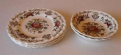 5 Pieces - Myotts Bouquet Made In Staffordshire England