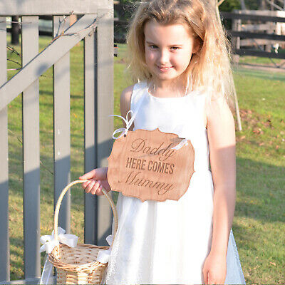 Personalised Favours Funny Wedding Flower Girl and Page Boy / Ring Bearer Signs
