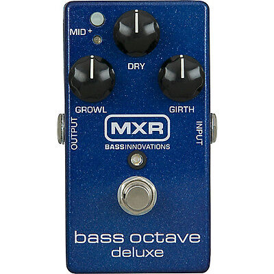 Dunlop M288 Mxr Bass Octave Deluxe******free Cable!!!!!!!!!! Worldwide Shipping