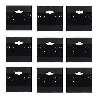 Adorox 2 x 2 Inch (200 Cards)Earring Jewelry Display Hanging Cards Showcase New