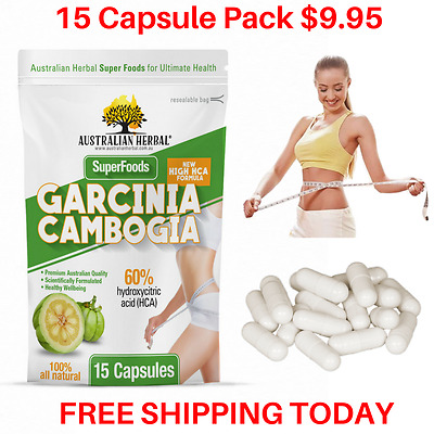 $9.95* 100% Pharma Grade Garcinia Cambogia WEIGHT LOSS FAT BURNER - AUST STOCK