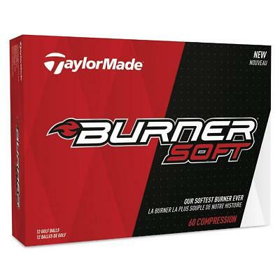 TaylorMade Golf 2017 Burner Soft Golf Balls 1 Dozen Low Compression (White)